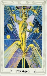 The Magus Thoth Tarot card