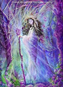 Faerie queen or deva
