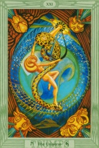 Thoth Universe Tarot Card