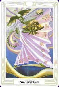 Princess of Cups Thoth Tarot Card