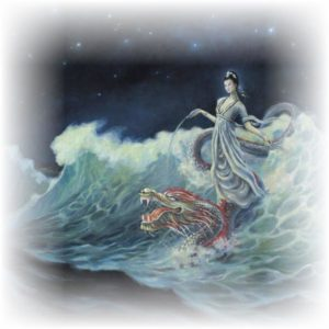 Quan Yin of the waters