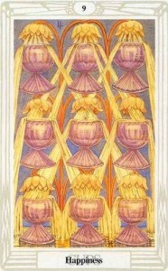 9 of Cups in the Thoth Tarot deck