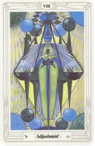 Thoth Adjustment Tarot Card