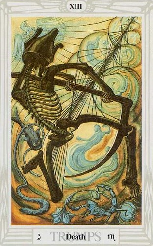 Image result for thoth death tarot card