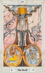 Thoth Devil Tarot Card