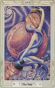 Thoth Star Tarot Card