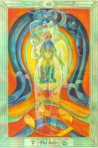Thoth Aeon Tarot Card