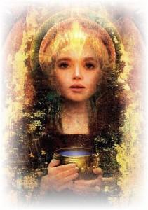 Goddess and chalice