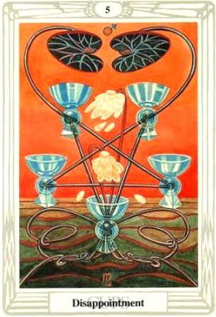 Thoth Tarot Five of Cups
